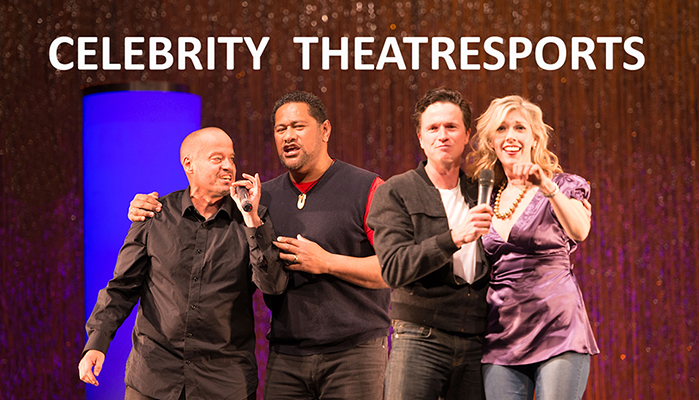 Celebrity Theatresports - SUN 13 AUG at 6PM