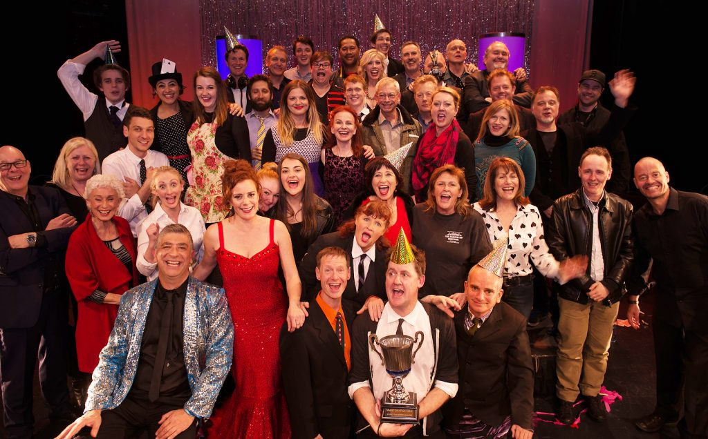 2015 Celebrity Theatre Sports challenge Impro Australia show at the Enmore theatre