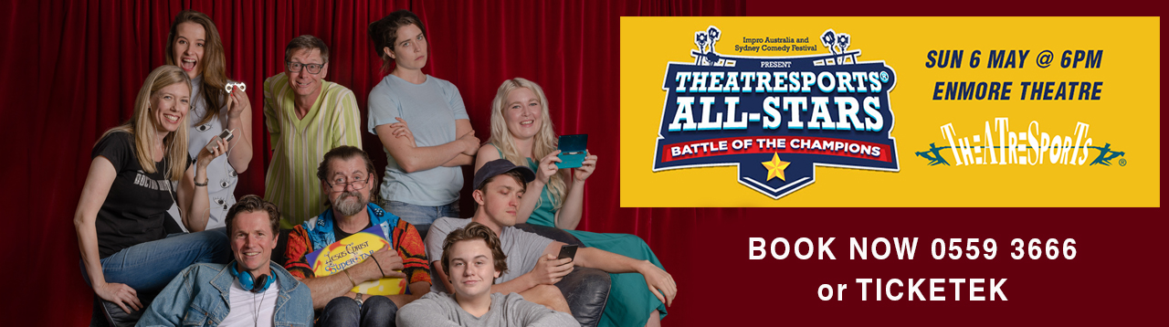 Theatresports Generations Banner blowup