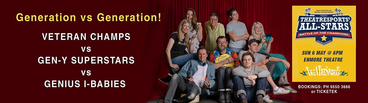 Theatresports Generations Impro Australia WEBSITE 1280 w Banner 1