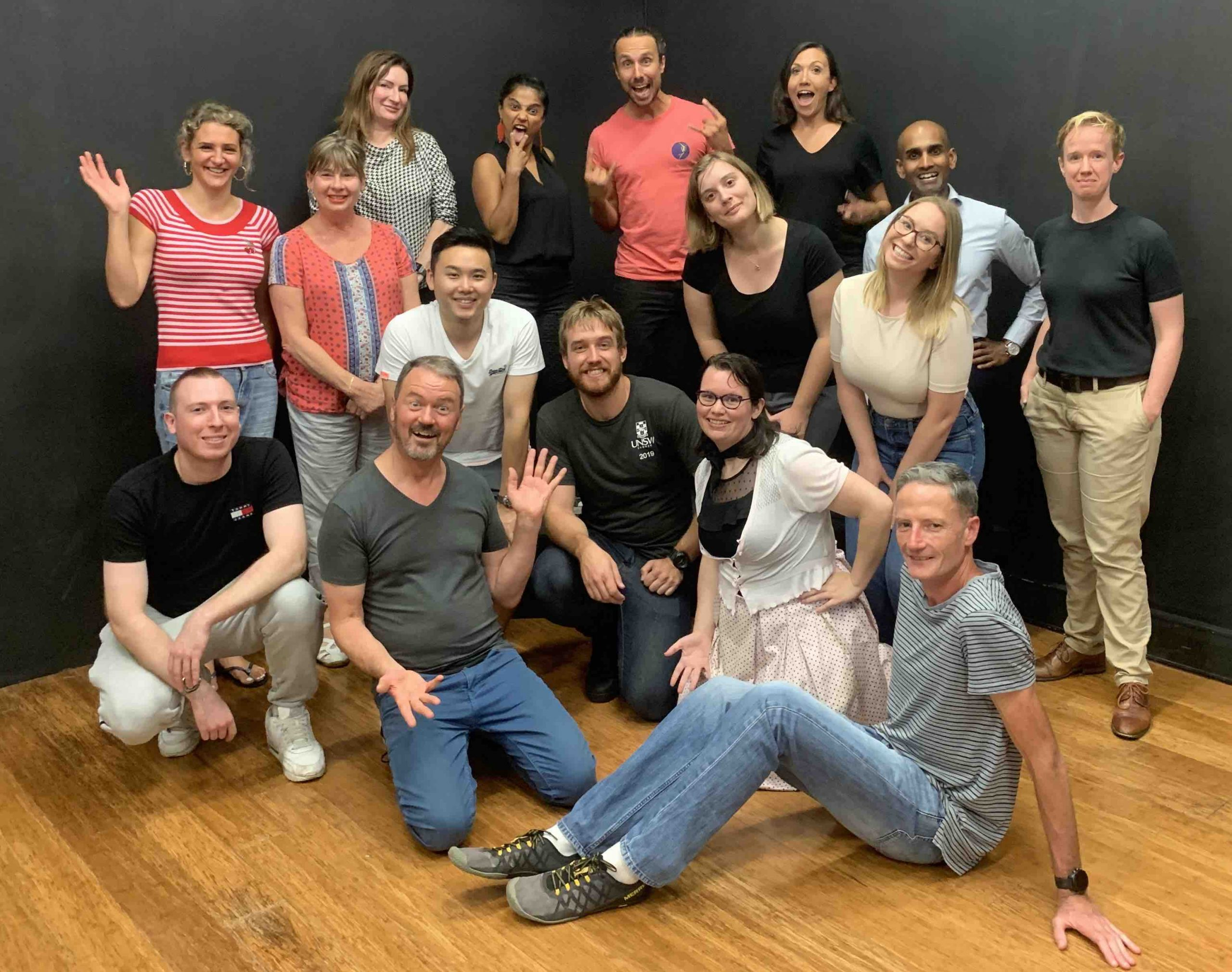 IMPRO FOR BEGINNERS STARTS TUE JUL 13th